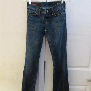 CITIZENS OF HUMANITY DENIM BOOTCUT 26